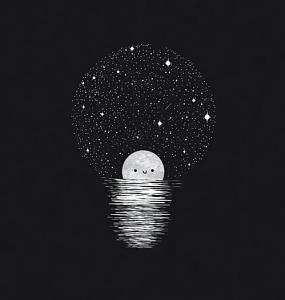 ღ ÑæÚÉ ÇááÞÇÁ Èíä ÇáÃÈíÖ æÇáÃÓæÏ æÇáÑãÇÏí ღ-draw-light-moon-night-favim.com-2800759.jpg